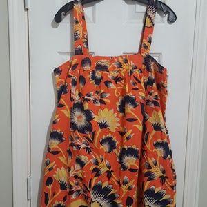 Women's J. Crew floral maxi dress